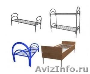 Кровати металлические для казарм, кровати двухъярусные для общежитий. оптом - Изображение #9, Объявление #1478862