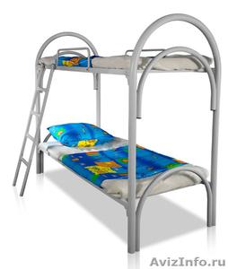 Кровати металлические для казарм, кровати двухъярусные для общежитий. оптом - Изображение #5, Объявление #1478862