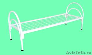 Кровати металлические для казарм, кровати двухъярусные для общежитий. оптом - Изображение #3, Объявление #1478862