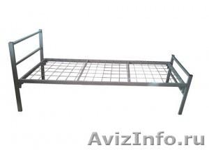 Кровати металлические для казарм, кровати двухъярусные для общежитий. оптом - Изображение #4, Объявление #1478862