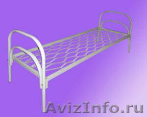 Кровати металлические для казарм, кровати двухъярусные для общежитий. оптом - Изображение #6, Объявление #1478862