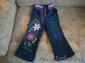 джинсы, сарафан для девочки