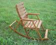 Кресло-качалка деревянное