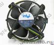 Кулер Intel (4пин,  775,  Cu+Al)