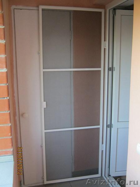 Сетка на балконную дверь от комаров картинки.
