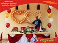 Воздушные шары на свадьбу (о'ШАРование) оформление и продажа