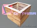 Вазоны ручной работы из дерева по сниженной цене
