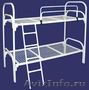 Кровати металлические для казарм, кровати двухъярусные для общежитий. оптом - Изображение #8, Объявление #1478862